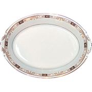 "Syracuse China ""Old Ivory"" Meat Platter Plate"