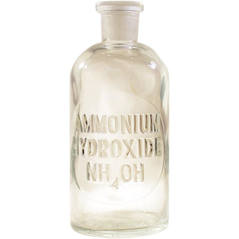Wheaton NO-SOL-VIT 8 Apothecary Chemist Laboratory Bottle ETCHED