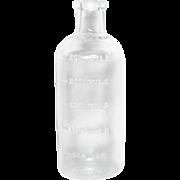 T.C.W. CO. Glass MIL bottle U.S.A. Wheaton