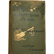 *RARE* 1889 Book The Pretty Sister of JOSE By Hodgson Burnett