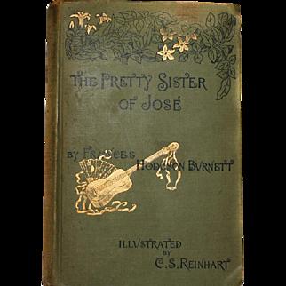 *RARE* 1889 Book The Pretty Sister of JOSE By Hodgsn Burnett