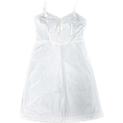 NEW Vintage Barbizon Full Slip Ladies  White TAFREDDA Size 16