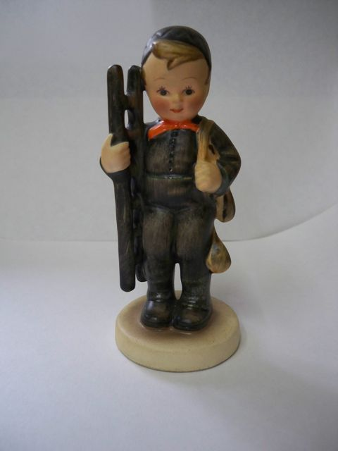 Early Hummel Figurine #12 Chimney Sweep TMK 2 Germany