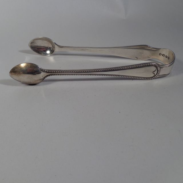 Sterling Tongs London 1874 Henry & Henry John Lias
