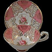 Paragon England Cup & Saucer Pink Rose