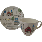 Johnson Brothers McDonalds Farm Cup and Saucer