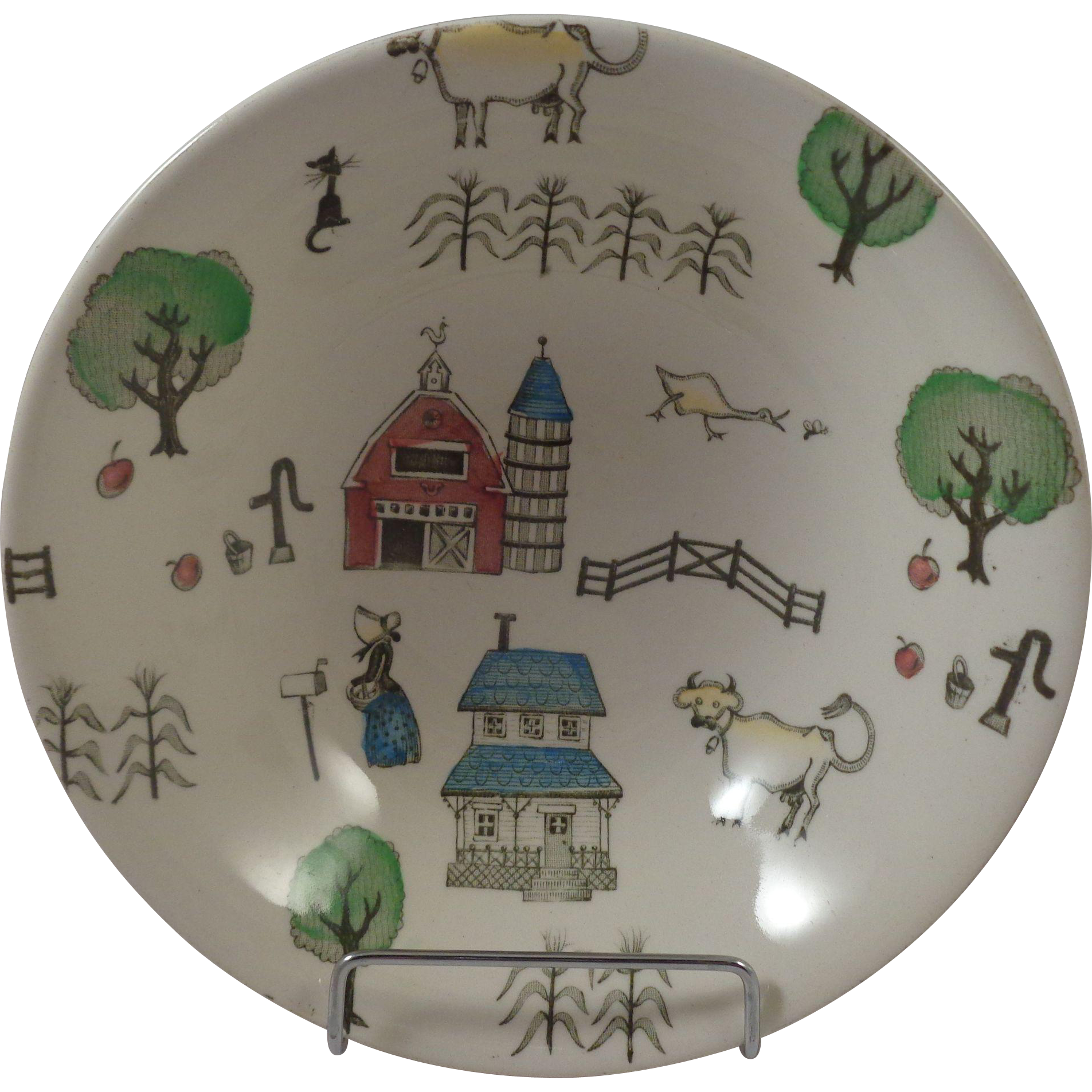 Johnson Brothers McDonalds Farm Cereal Bowl  6""