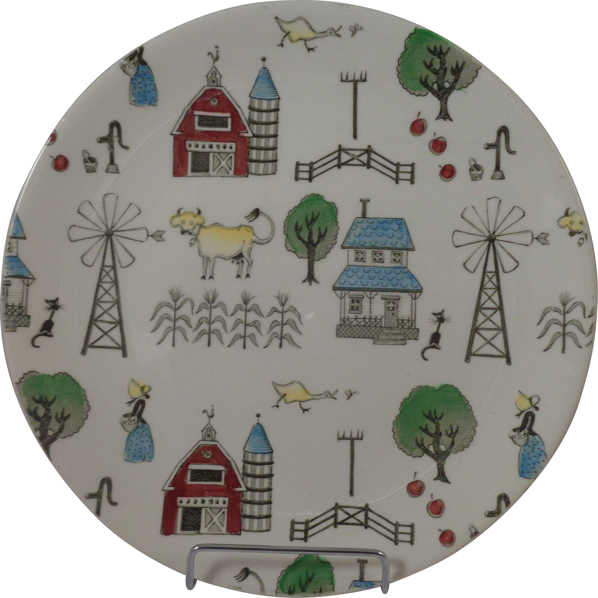 "Johnson Brothers McDonalds Farm 8"" Plate"