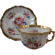 Lady Patricia Hammersley Cup Saucer Heavy Gold