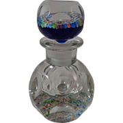 Perthshire Inkwell Perfume Bottle Millefiori PP15