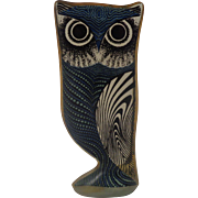 Abraham Palatnik Lucite Acrylic Op Art Owl Night & Day Signed