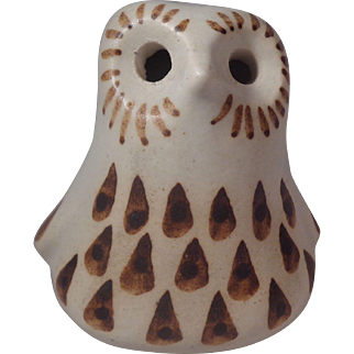 Strawberry Hill Pottery Baby Owl Canada