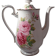 Royal Albert Coffee Pot American Beauty England