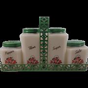 Tipp City Shakers Green Rack Lids Flower Basket Decal