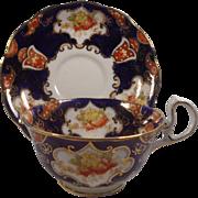 Royal Albert Crown China Imari Cup & Saucer