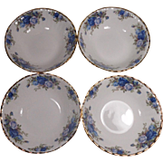 4 Royal Albert Moonlight Rose England Soup Cereal Bowls Unused