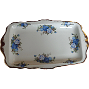 Royal Albert Moonlight Rose England Sandwich Tray Large