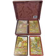 De La Rue Pneumatic Playing Cards Boxed Set Never Opened Tax Stamps