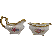 Hammersley Lady Patricia Creamer and Open Sugar