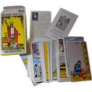 The Rider Tarot Deck The Magician Complete 1971