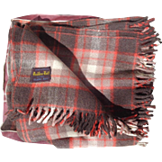Eaton's of Canada Wool Travel Rug in Original Case Haddon Hall