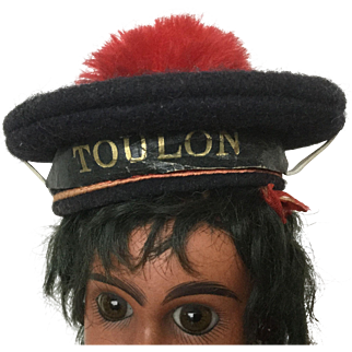 French woolen sailor doll hat, size 1 'Toulon'