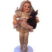 """Fully jointed, 7 3/4"""" Armand Marseille girl, all original !"""