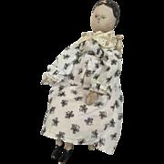 """Large wooden Grodnertal 19""""doll"""
