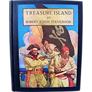 """Wonderful Robert Louis Stevenson """"Treasure Island"""" American Edition by Scribner's Sons 1933 and Illustrated by N.C. Wyeth"""