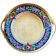 "Attractive B & Co. Limoges France & Pickard Studio of Chicago 1912 Hand Painted ""Encrusted Fruits"" 10-7/8"" Plate by the Listed Artist, ""Nesha Tolpin"""