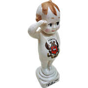 "Vintage English Clifton China 1912-15 ""ONE OF THE B'HOYS"" 6-1/2"" Kewpie Figurine"