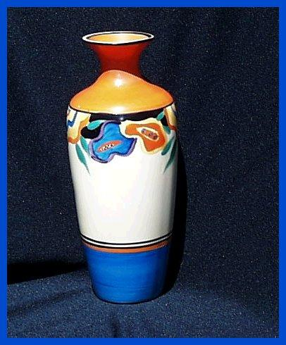 Clarice Cliff  Deco Fantasque Garland Vase 1929