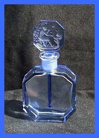 Czech Hoffman Intaglio Nude/Cherub Perfume