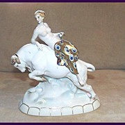 Deco Katzhutte Nude on a Bull #4