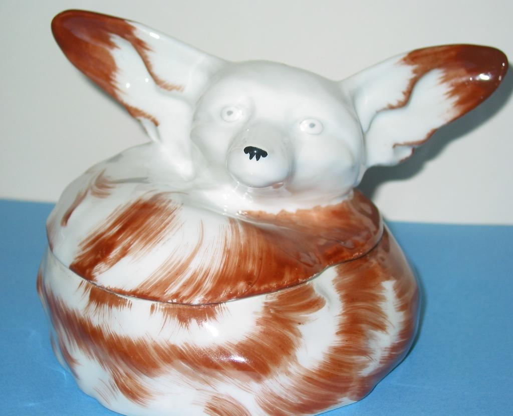 Art Deco Sandoz Haviland Limoges Fennec/ Fox