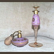 Volupte Plum Atomizer & Perfume Dropper Set