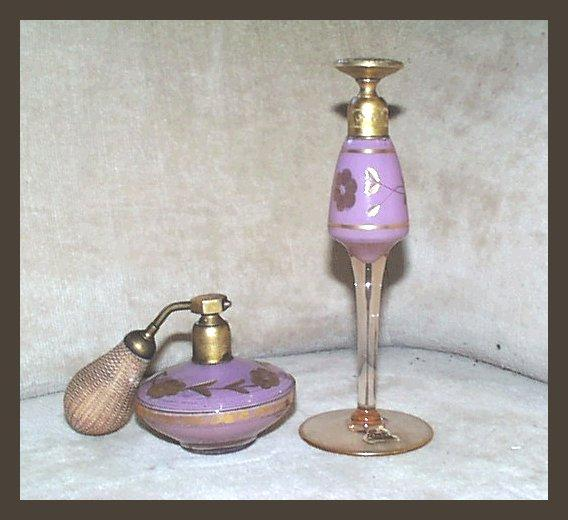 Volupte Plum Atomizer & Perfume Dropper Set