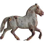 Antique Tin Running Horse Weathervane
