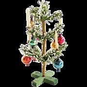 Vintage Tiny German Christmas Tree