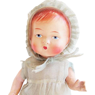 Antique Composition Baby Doll Germany