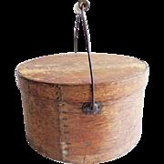 RESERVED Antique Primitive Oak Pantry Box