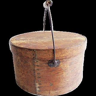 Antique Primitive Oak Pantry Box