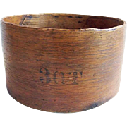 Antique Primitive 3 Quart Grain Measure