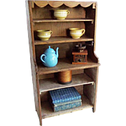 Early Child's Primitive Cupboard