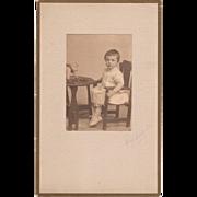 1907 Photoraphic Sweet Girl and Her Teddy Bear