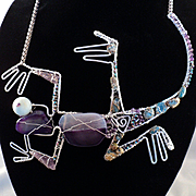 Kickin' Lizard Necklace