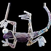Kickin' Lizard Necklace