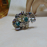 A Bit of Old Sparkle Adjustable Ring