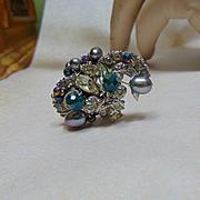 A Bit of Old Sparkle Adjustable Ring