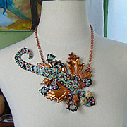 Sailing Lizard Necklace
